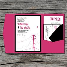 Pocket Invitation Cards Diy Pocket Wedding Invitations U2013 Gangcraft Net