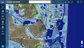 Map Of Miami Beach Hotels by Many Trump Properties Could Be Underwater Due To Rising Sea Levels