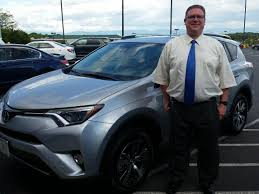toyota dealer sales jeremiah cook is the proud new owner of this 2016 toyota rav4