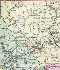 map of williamsport pa lycoming county pennsylvania 1911 map by rand mcnally