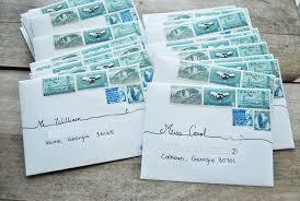 Stamps For Wedding Invitations Postage For Wedding Invitations Justsingit Com
