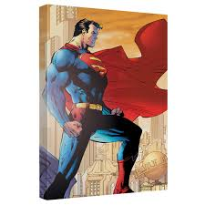 superman city watch art canvas wall decor retroplanet com zoom