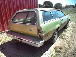 dark green station wagon 800 4 speed no rust 1974 ford pinto wagon