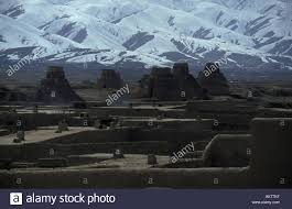 Adobe Homes by Adobe Homes U0026 Brick Kilns Kabul Afghanistan Stock Photo Royalty