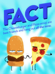 friends emoji the pizza u0026 cheeseburger emoji are best friends album on imgur