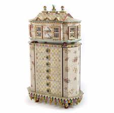 Kids Jewelry Armoire Mackenzie Childs Chicken Palace Jewelry Armoir Chelsea Gifts