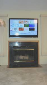 fireplace new hang tv over fireplace design ideas fantastical to