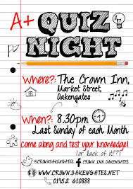 quiz night let your friends enter as individuals teams or pairs