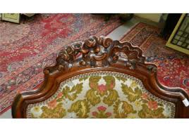 luxury antique 1850 u0027s french rococo hand carved living room sofa