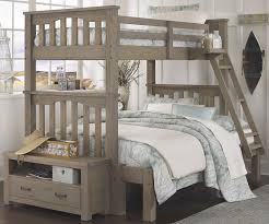 American Woodcrafters Loft Bed American Woodcrafters Cottage Traditions Twin Over Full Bunk Bed