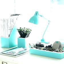 aqua blue desk accessories decorative desk accessories office accessories for desk cute desk