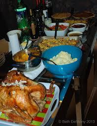 santiago tourist thanksgiving dinner cena turkey pavo entero