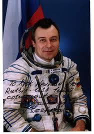 cosmonaut autographed pictures