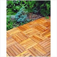 snap together wood deck tiles warm acacia hardwood snap together