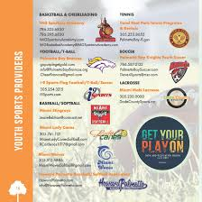 Palmetto Florida Map by Sports Programs U0026 Providers Palmetto Bay Fl