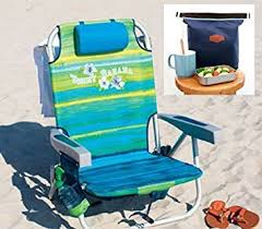 amazon com tommy bahama 2016 backpack cooler beach chair green