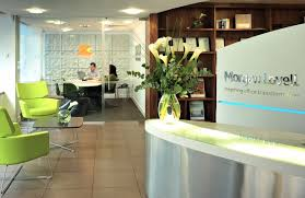Desks Modern Office Reception Desk Wonderful Inspiring Simplest Modern Office Design Interior Of