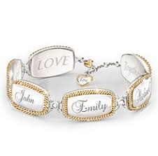Mothers Bracelets With Names How Adorable Is This Personalized I Love You To The Moon And Back