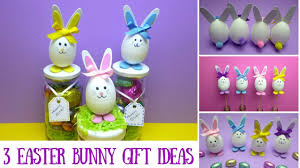 Easter Gift Ideas by Easter Crafts 3 Easter Bunny Gift Ideas Mason Jar Crafts Youtube