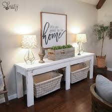 Dining Room Console Table 40 Farmhouse Console Table Shanty 2 Chic