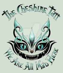 the cheshire tatt we are all mad here by yellowravenink on