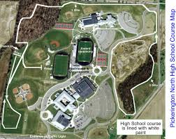 Bgsu Campus Map 2016 Meet Info Hilliard Davidson Cross Country