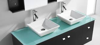 Modern Basins Bathrooms by Bathroom Colored Glass Vessel Round Lenova Sinks For Modern