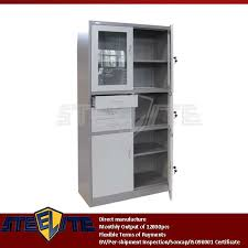 Wall Mounted Cabinet With Glass Doors Office Wall Mounted Cabinet Fancy Glass Doors Metal Tool Storage