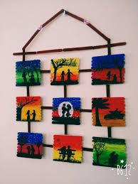 painting on icecream sticks creative ideas pinterest