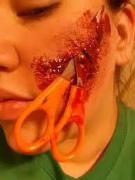 Schools For Special Effects Makeup Scissor Face Special Fx Makeup By Xxpencilxstrokesxx Deviantart