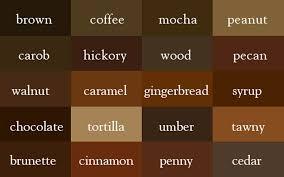 Interior Design Thesaurus Color Thesaurus U2013 The Name Of Colors Ufunk Net
