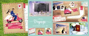 mariage voyage voyage fairepart mariage original studio postscriptum