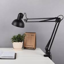 Drafting Table Lamps by Tables White Black Red Iron Elegant Study Table Lamp Us Plug