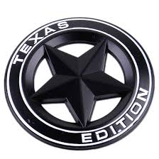 jeep grill sticker new 3d metal texas star logo emblem badge sticker decal for ford
