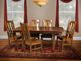 arroyo butterfly leaf dining table countryside amish furniture