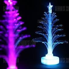 fiber optic light tree jueja novelty glowing fiber optic christmas tree night l led