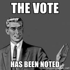 Lds Conference Memes - opposition votes in lds general conference the vote has been noted