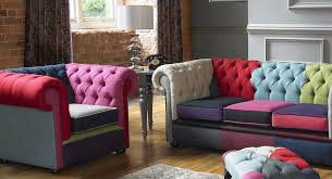Linen Chesterfield Sofa by Specialists In Handcrafted Chesterfield Furniture Portabello