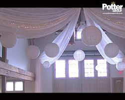 wall draping u0026 ceiling decor potter group