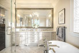 framed bathroom mirror ideas bathroom mirror ideas with brown wooden cabinet storage and
