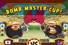 angry birds fight arena tournament u2013 bomb master cup