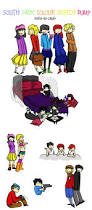 south park colour sketch dump by death by candy on deviantart