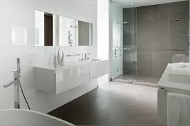 victorian bathroom design in grey and white tiles for classy look