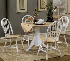 Small Round Kitchen Table For Two by Furniture Winsome Homelegance 2 Tone Round Dining Table Best