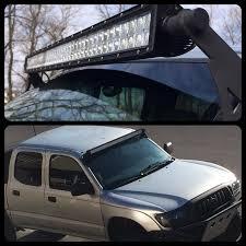 toyota tacoma light bar roof mount fs 1st gen 95 5 04 tacoma led bar roof mounts sold roof light