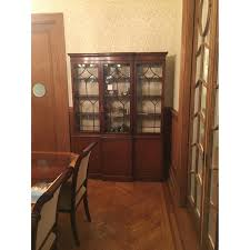 Antique Breakfront China Cabinet by Antique Wood Breakfront China Cabinet Aptdeco