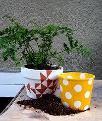 Painting Garden Pots Ideas 40 Ideas To Dress Up Terra Cotta Flower Pots Diy Planter Crafts
