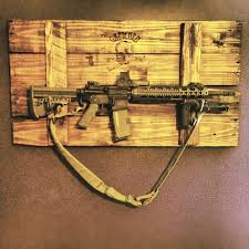 Make Your Own Gun Cabinet Homemade Pallet Gun Rack Gretchen Is Her Name Killing Is Her