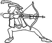 robin hood coloring pages free coloring pages
