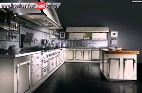 edelstahl küche retro stil designer edelstahl küche officine gullo